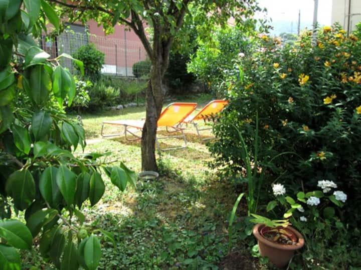 Casa con giardino&parcheggio vicino a Cinque Terre