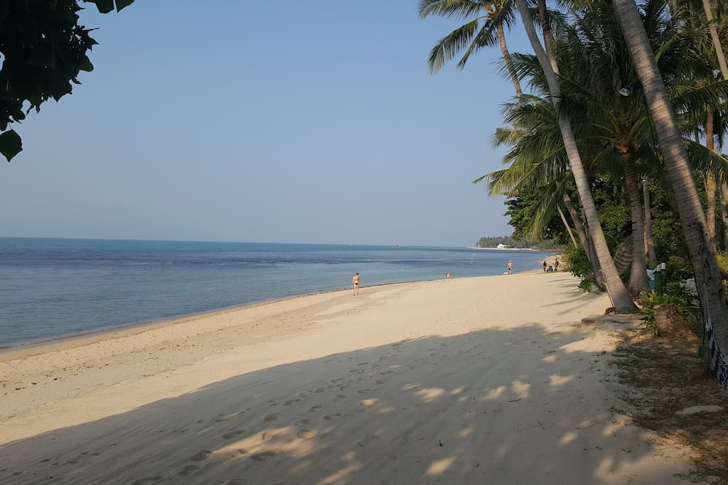 Just 25 meters from this beach....