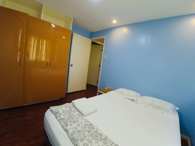 Masters Bedroom with Centralized Airconditioner ( Full Bed with Foldable Sofa Bed )