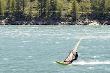 Wind surf a Ceresole Reale