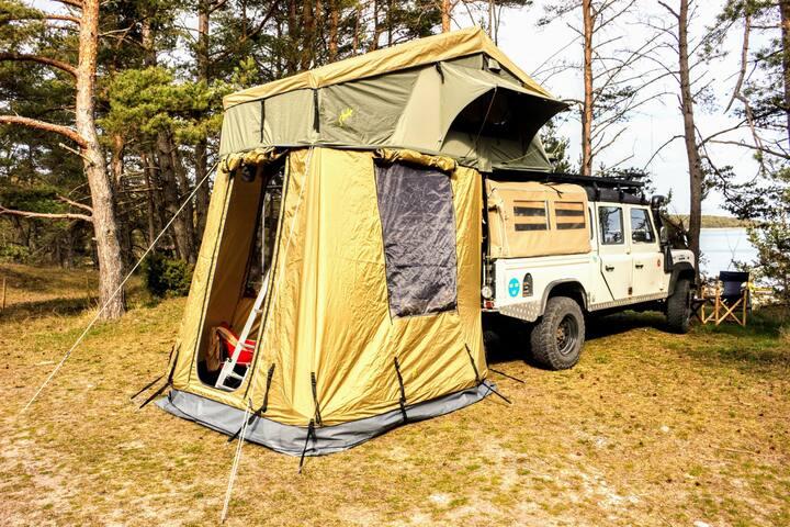 Overlanding i taktält på Fårö - ett unikt äventyr