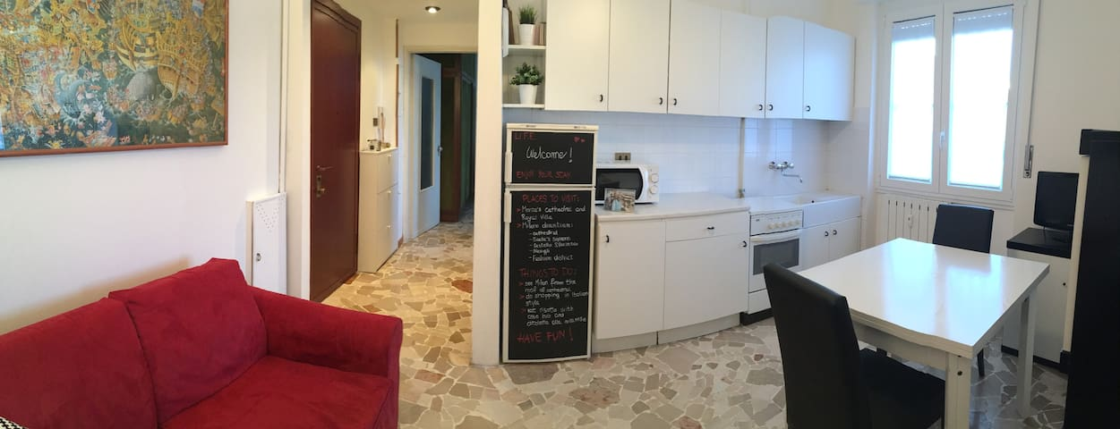 Small, smart, well served apartment close to Milan - Cinisello Balsamo