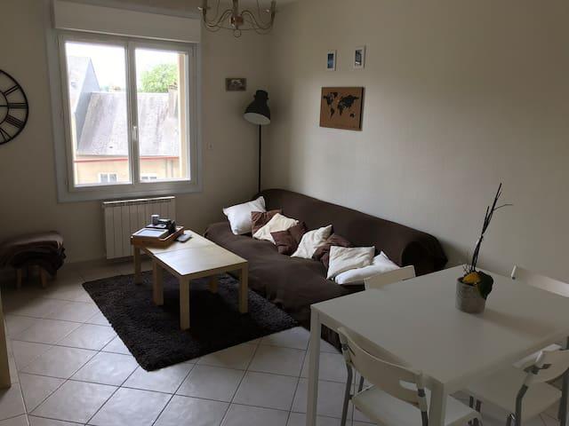 Appartement accueillant en plein cœur de Saint-Lô!