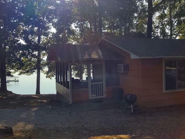 Shawnee Bay Resort Lakefront Cabin
