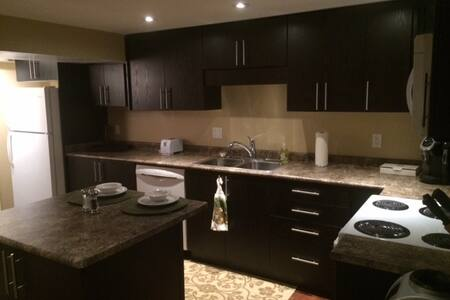 Newley renovated, beautiful walkout apartment - Cambridge