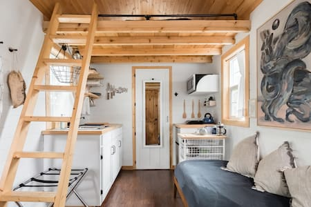 Tiny House in Wooded Backyard Near Bishop Arts District