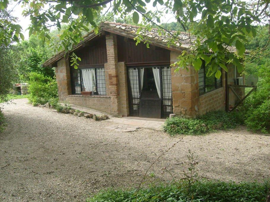 la casa del fringuelletto, creata per gli innamorati.......