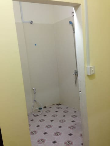 Separate toilet and shower room for privacy