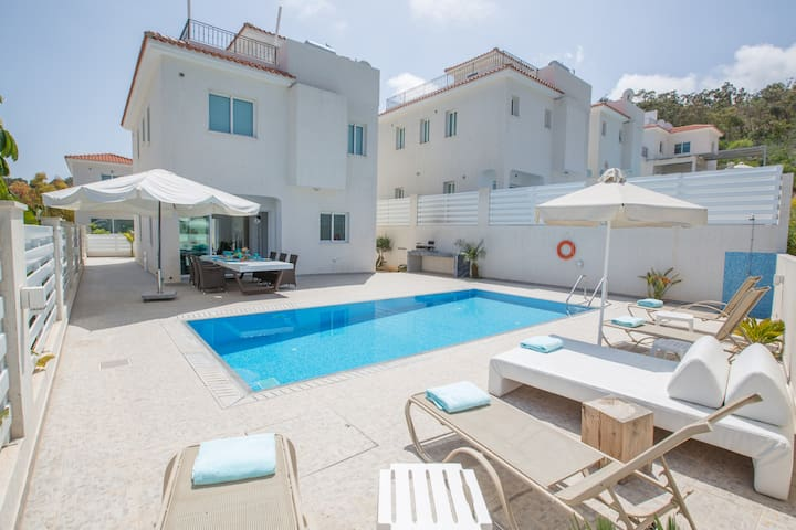 Sunshine Luxury 3 Bedroom villa with swimming pool - Protaras - Maison