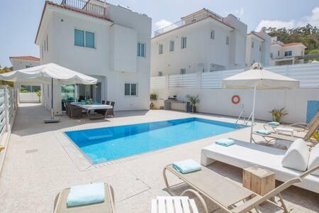 Sunshine Luxury 3 Bedroom villa with swimming pool - Protaras - 独立屋
