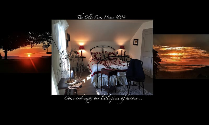The Olde Farm House 1804 in Vermont - Danville - Bed & Breakfast