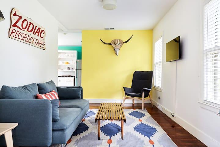 Bright Bungalow in Austin's Premier Neighborhood
