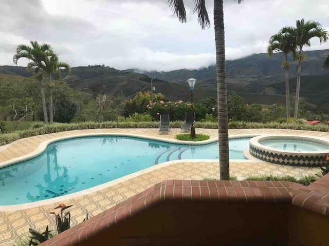 Espectacular finca con hermosa vista Perfect place