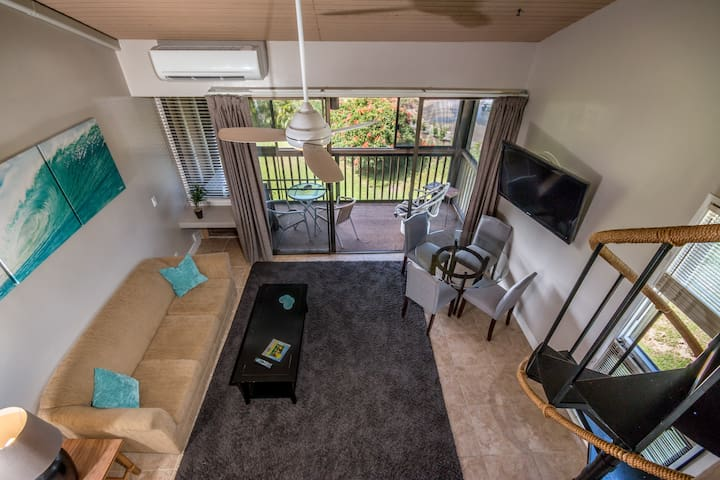 Closest Condo to the Turtle Bay Hotel and Beach - Kahuku - Apartament