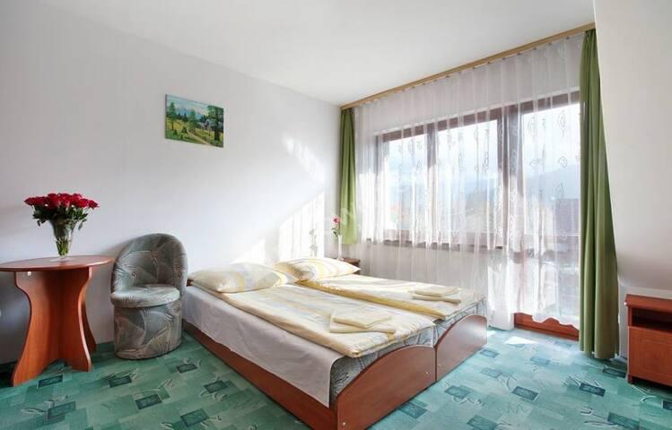 Pokój z łazienką w Willi Slavita