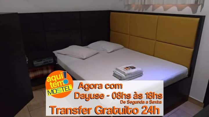 DAYUSE - 08HS ÀS 18HS + TRANSFER AEROPORTO GRU