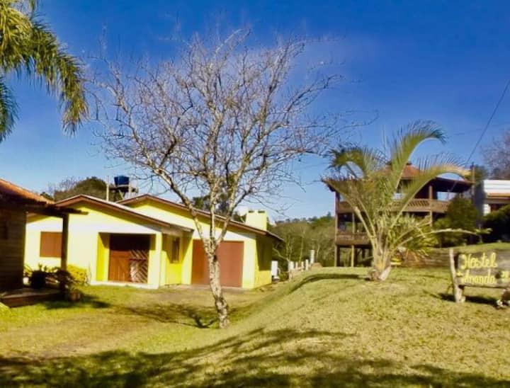 Hostel Ananda - Borussia $70,00 reais por pessoa