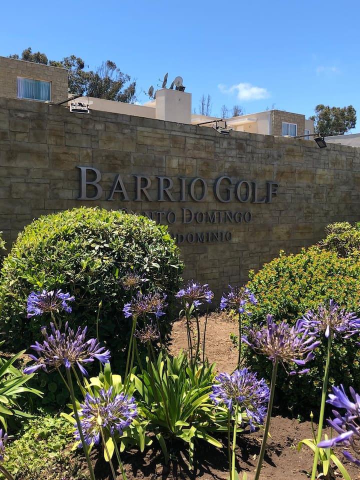 Depto. en  Condominio Barrio Golf Santo Domingo