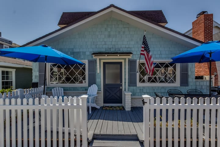 Charming 3 bedroom Balboa Island Cottage - Newport Beach - Hus