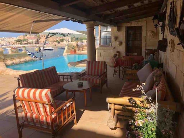 Quaint Mediterranean Sea Home W/shared pool