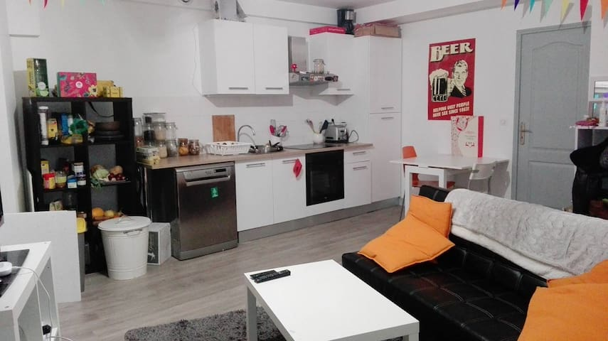 Appart Poitiers centre, (2-4 pers)