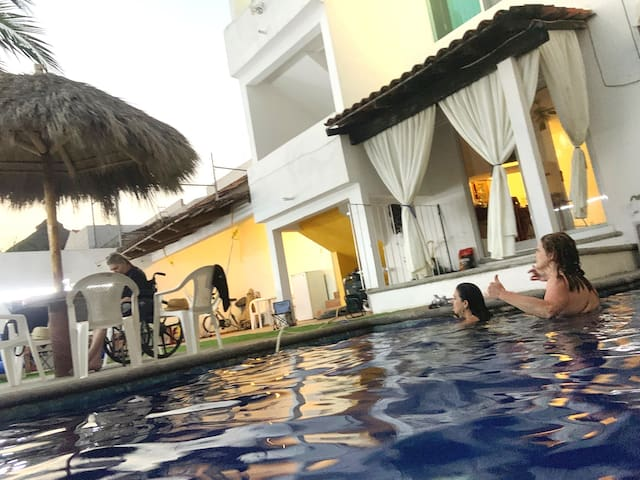 ☼ Casa Alexis ☼ Beautiful Beach House A/A & Pool≈≈