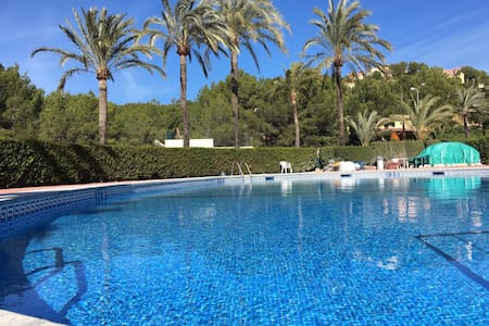 WHITE CALM DREAM POOL SEA WIFI - Illes Balears
