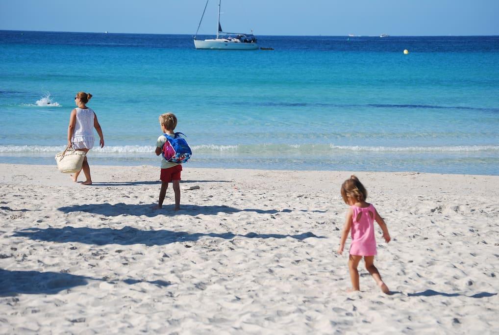 Cap a la platja