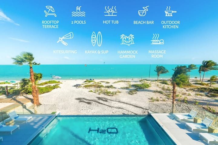 Spectacular LifeStyle Resort Oceanview Unit @H2O w/ Watersports