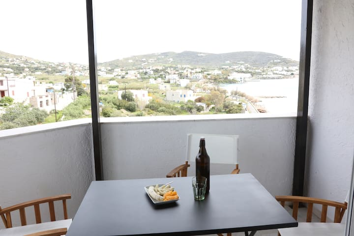 Gorgeous top floor apartment in Finikas Syros - Finikas - Apartament