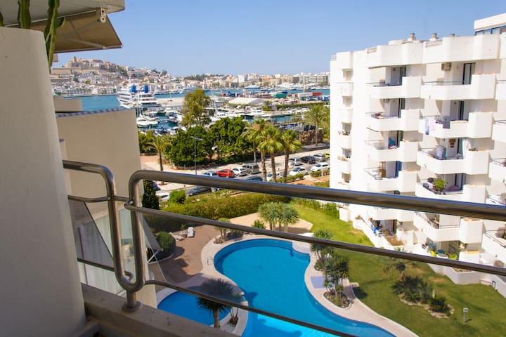 A True Gem in Marina Ibiza / Botafoch / Talamanca - Eivissa - Appartement