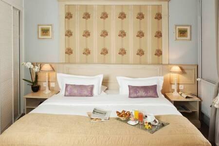 Chambre Simple -Hotel de Bellevue Gare du Nord *** - París