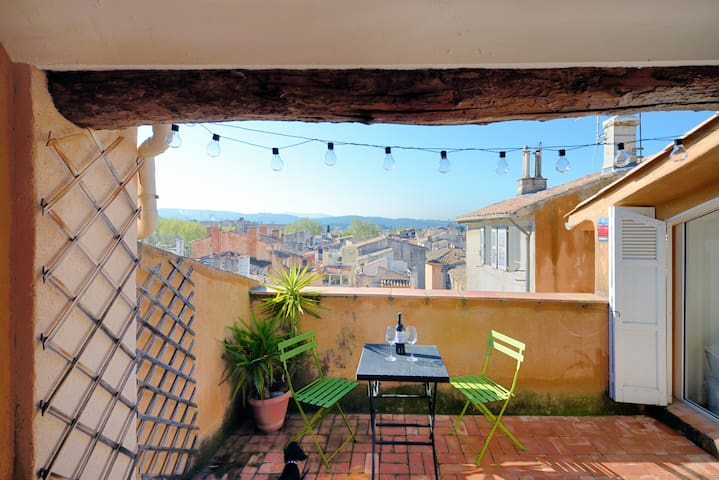 Amazing View in Historic Center - Aix-en-Provence - Appartement