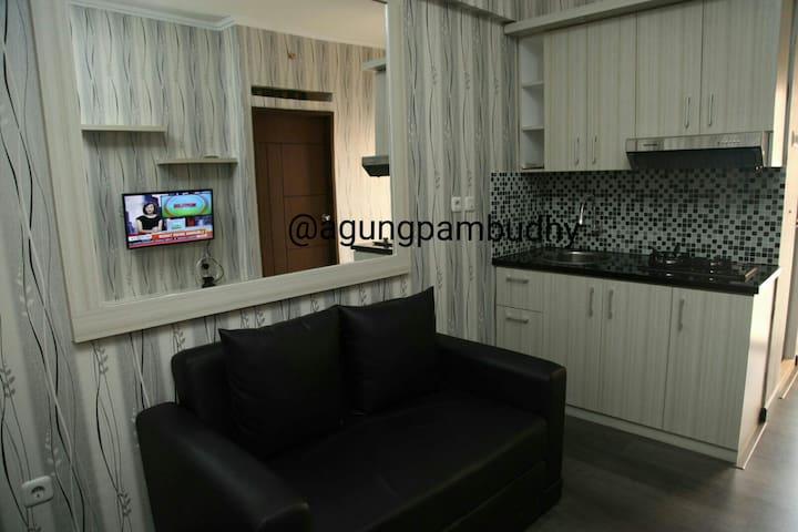 2 BR in KemangView Apartment Bekasi