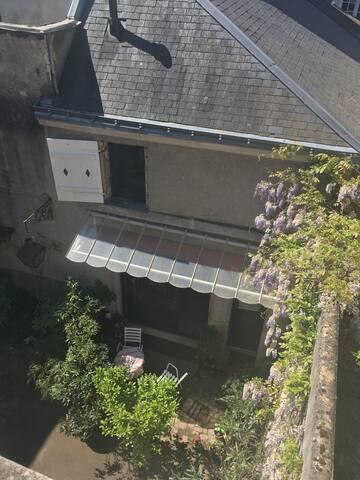 Charmante petite maison centre-ville historique. - Angers - Daire