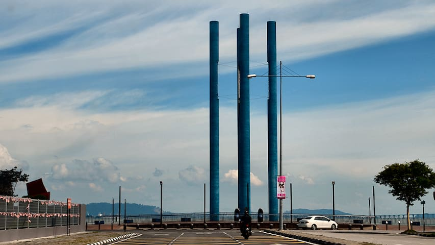 The famous Landmark at the Karpal Singh Drive