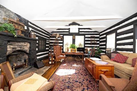 Unique Stay - 1907 Log Cabin Near Kentucky River
