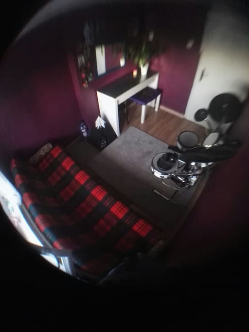 it's really small room but there's bed for two persons so not that bad