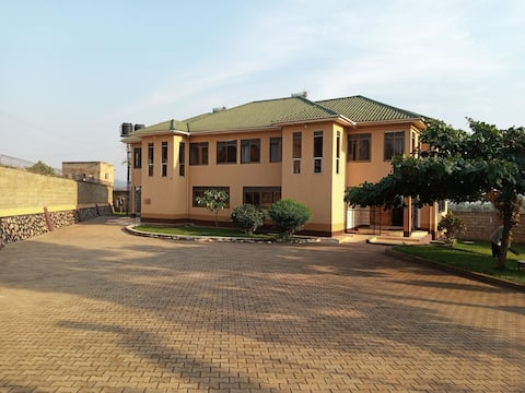 Amazing property in a quiet suburb of Kampala