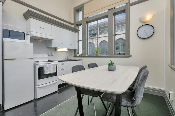 Unique Tower Apt in the heart of the city