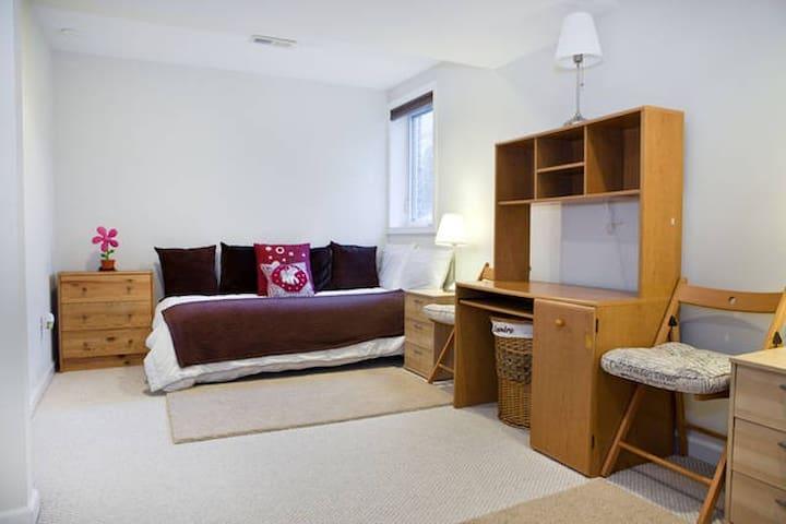 Cozy Single Bed #2 / Kensington MD - Kensington - Casa