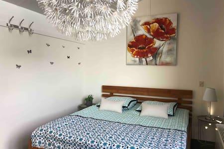Big room w/ netflix & balcony 40min from Amsterdam