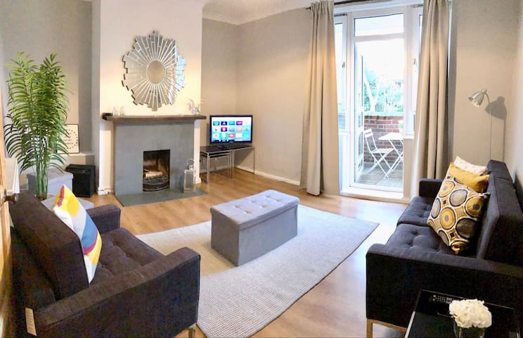 Stylish&Comfy 3Beds Central London Flat 7 min Tube