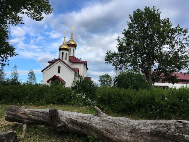 Церковь в нашем поселке