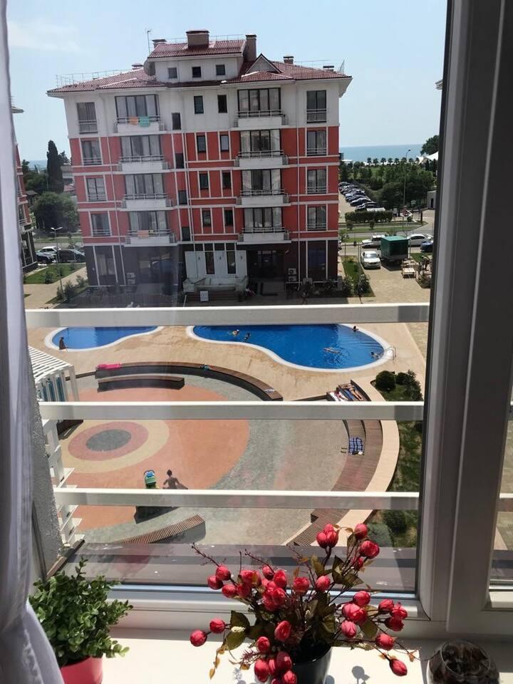 Апартаменты Sea Side у моря в Олимпийском парке