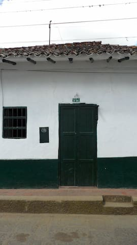 Casa Colonial en Curiti Santander - Curiti - บ้าน