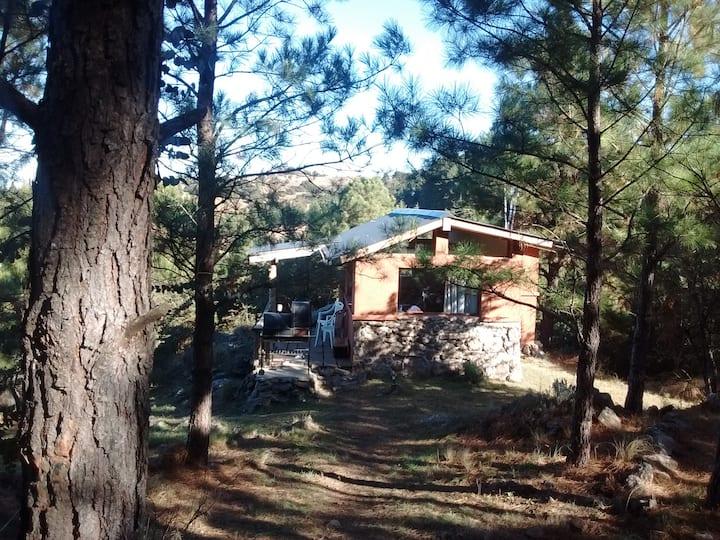 Cabaña de montaña para dos en Atos Pampa