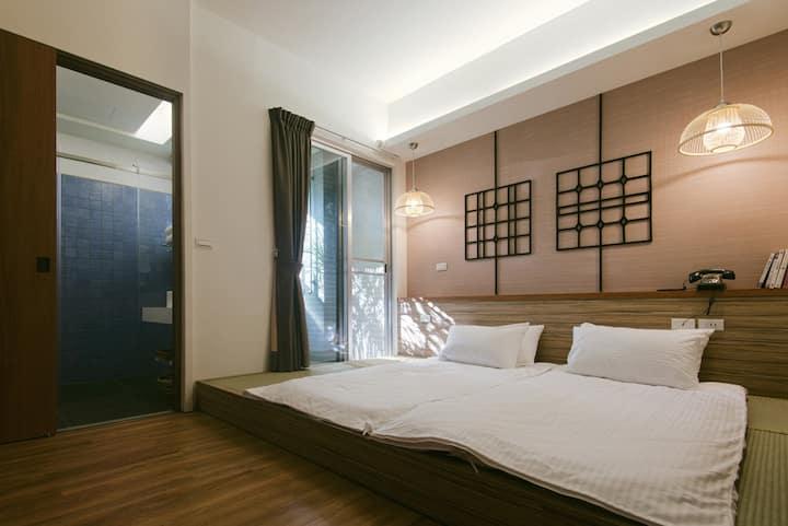 相遇 · 台南 · 鄉寓 3F-C 赤嵌樓 二人房(3F)