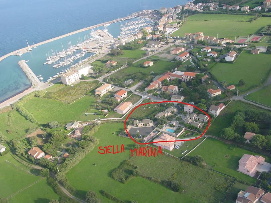 R sidence stella marina cap corse appart 39 h tels for Aparthotel corse