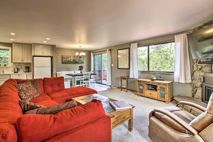 New! Stunning Home w/ Grill + Views - 4 Mi to RMNP